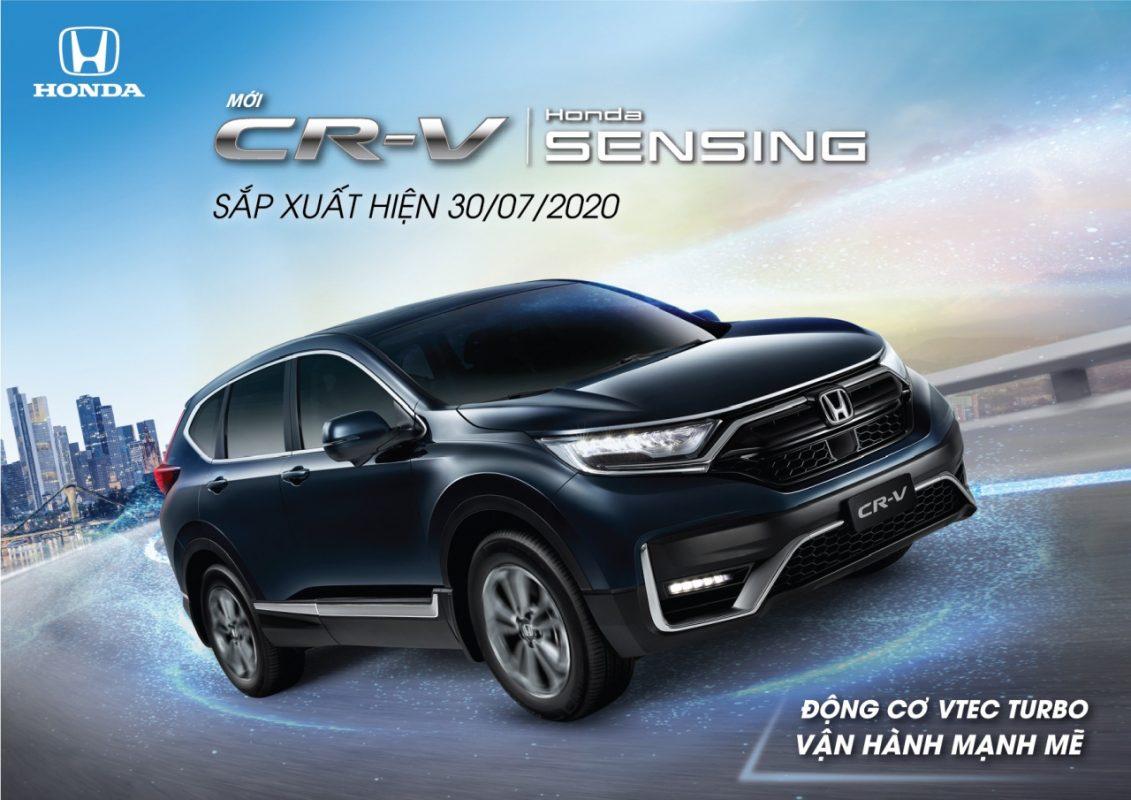 Honda CRV Sensing