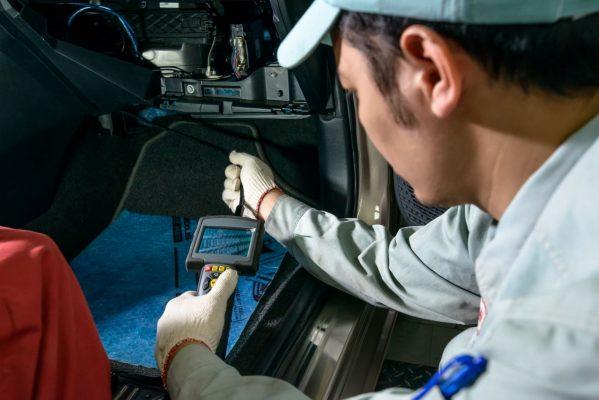 kiểm tra điều hòa xe Honda