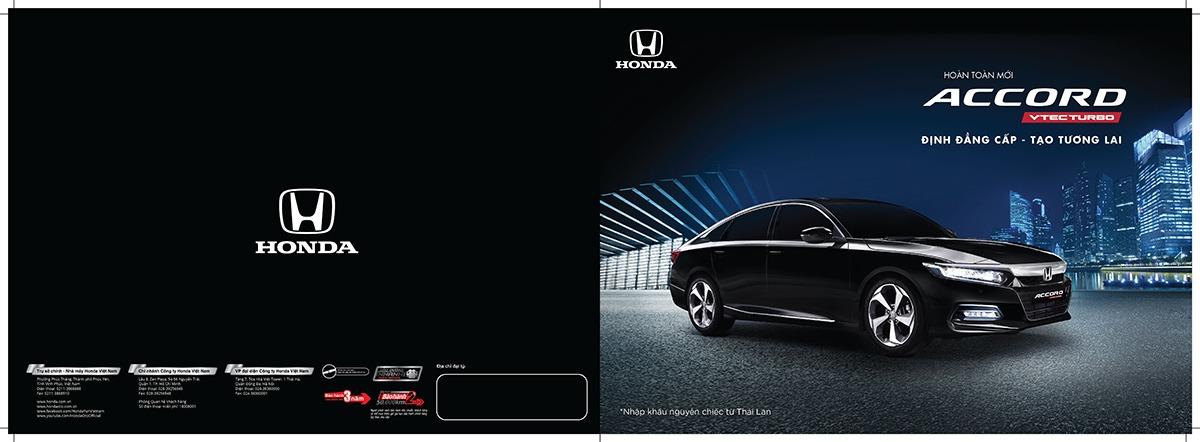 Honda accord nhập khẩu tại Honda oto Mỹ Đình