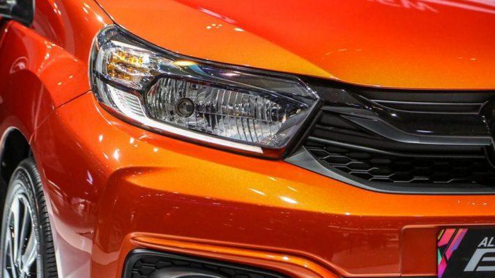Đèn Led trên xe Honda Brio
