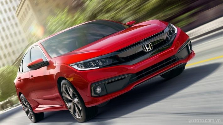 Đầu xe Honda Civic