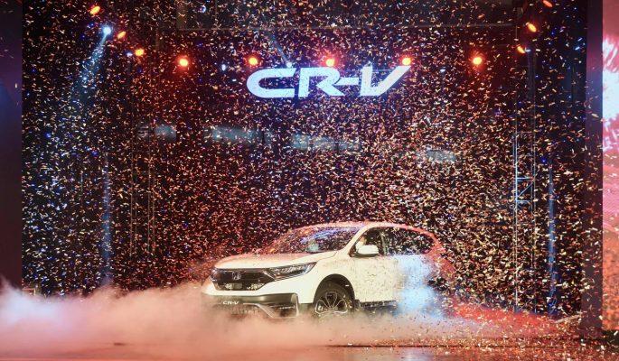 Ra mắt Honda CRV 2020