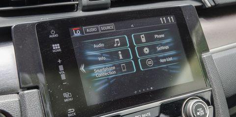 Màn hình 7 inch trên Honda CIvic