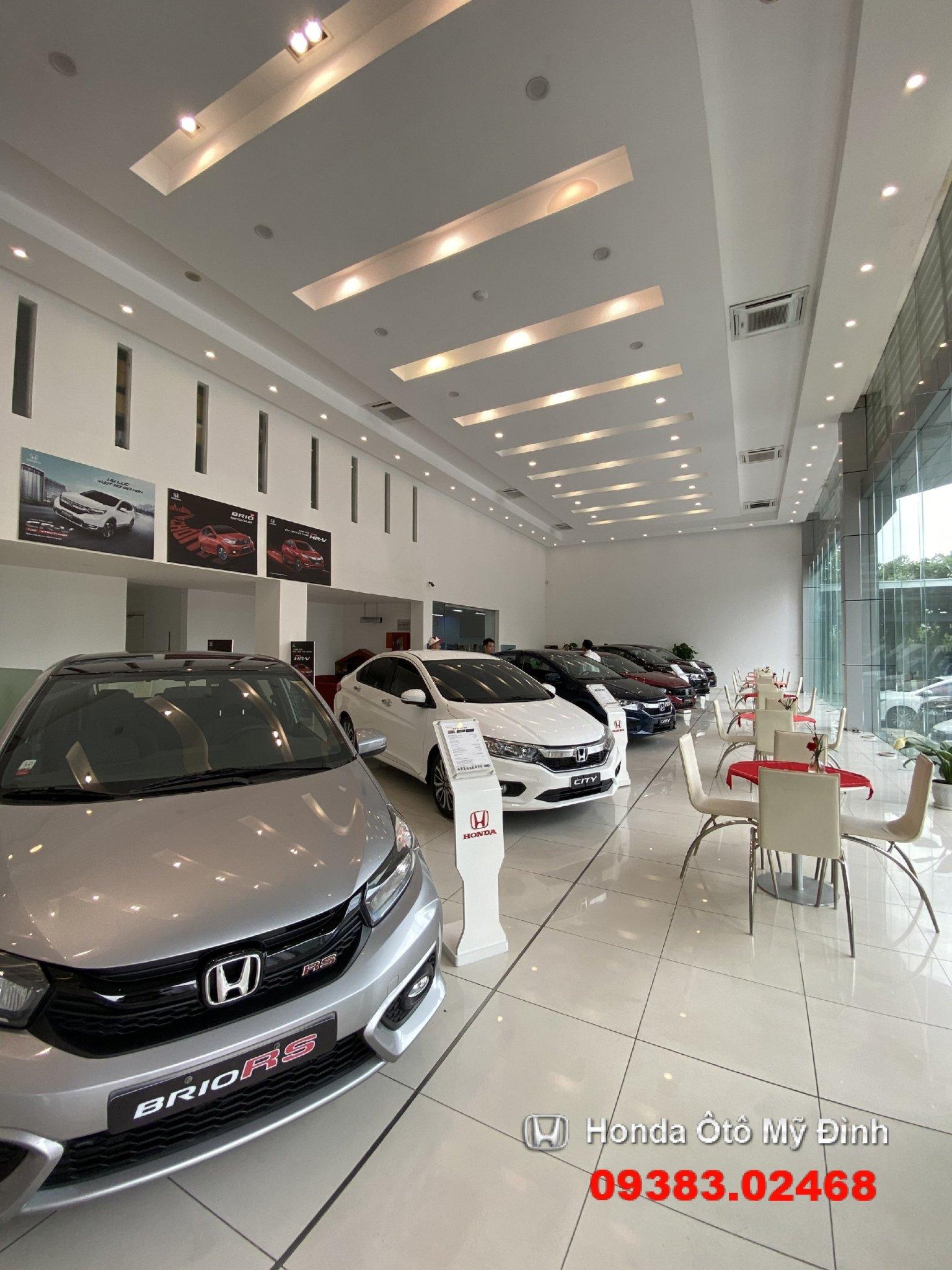Showroom Honda oto Mỹ ĐÌnh