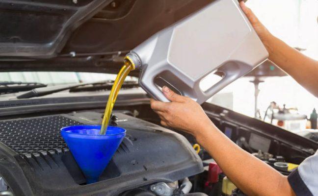 thay dầu xe oto honda tại honda oto mỹ đình