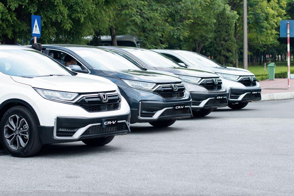 Honda CRV 2020 với nhiều phiên bản khác nhau tại Honda Mỹ Đình