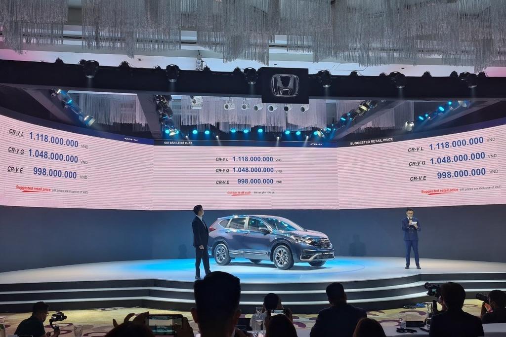 Giá bán đề xuất Honda CRV 2020