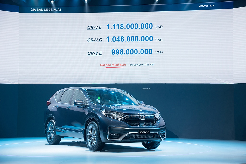 Giá bán Honda CRV 2021