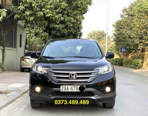 Honda CRV 2.0 Đen 2013 phần đầu xe