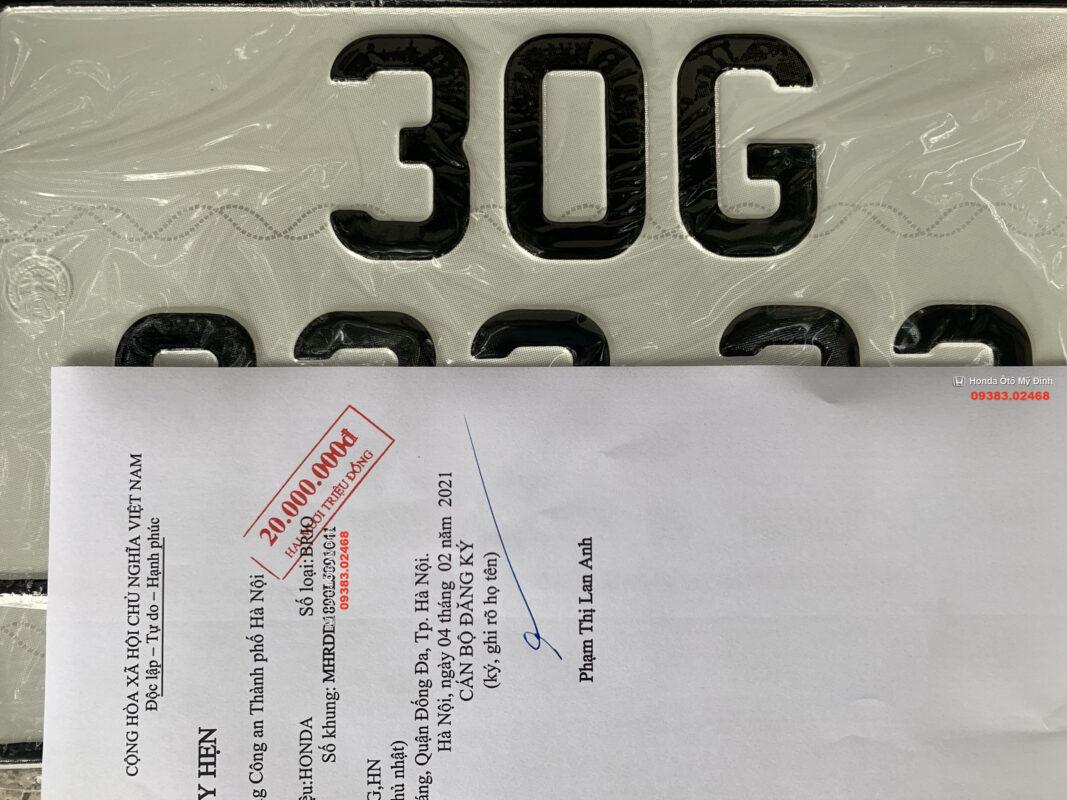 Thủ tục đăng ký xe ô tô mới