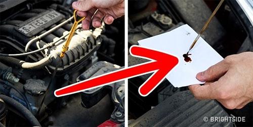 Cách kiểm tra dầu động cơ