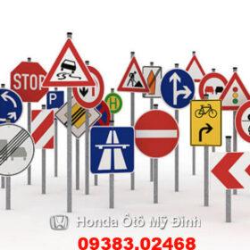 Các loại biển báo giao thông đường bộ cần biết