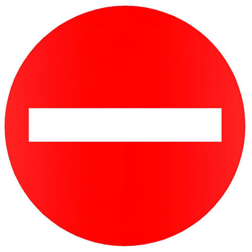 Logo biển cấm