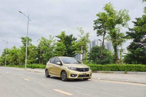 Honda Brio màu khách hàng đặt riêng tại Honda Mỹ Đình