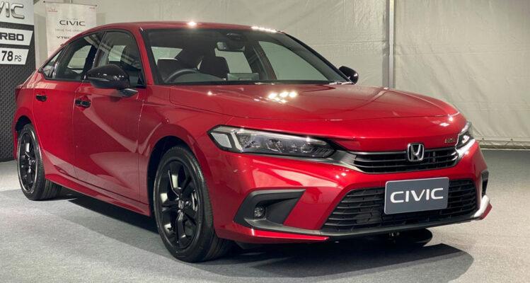 Honda Civic 2022 khi nào có tại Việt Nam?